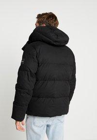 Calvin Klein - MID LENGTH - Talvitakki - black - 2