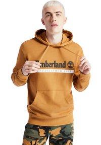 Timberland - YC ESTABLISHED - Hoodie - wheat boot/white - 0