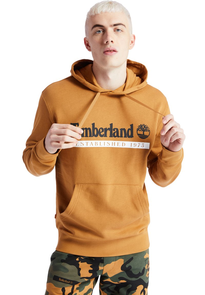 Timberland - YC ESTABLISHED - Hoodie - wheat boot/white