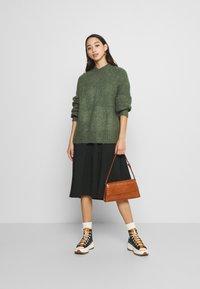 Monki - SONJA - Jumper - khaki green medium dusty - 1