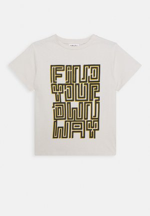ROXO - Print T-shirt - off-white