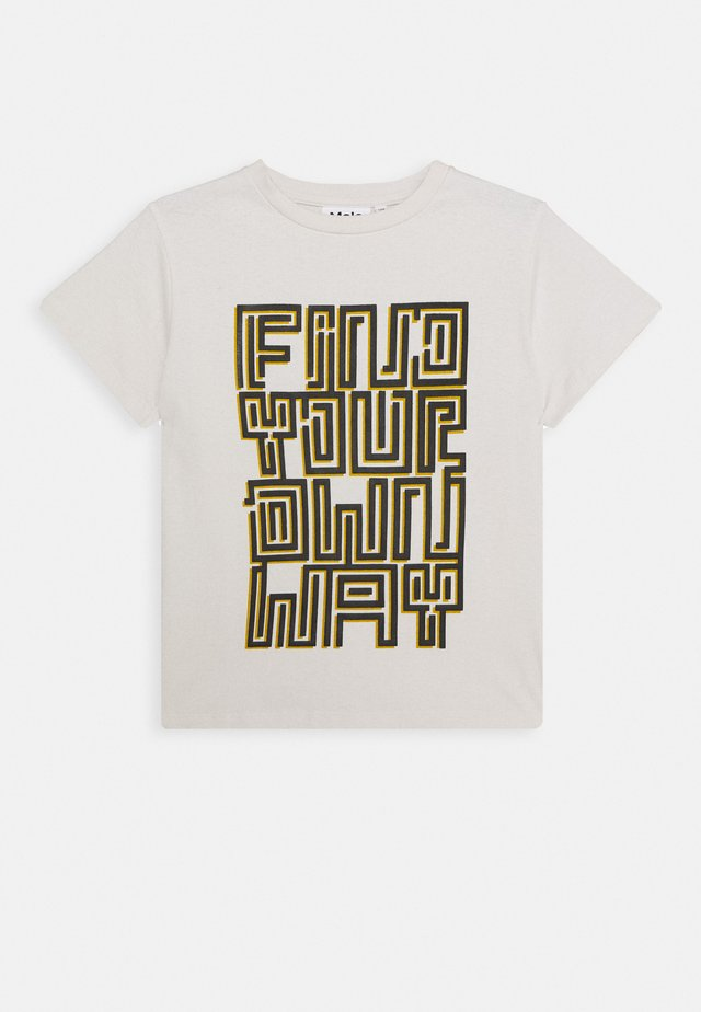 ROXO - Printtipaita - off-white