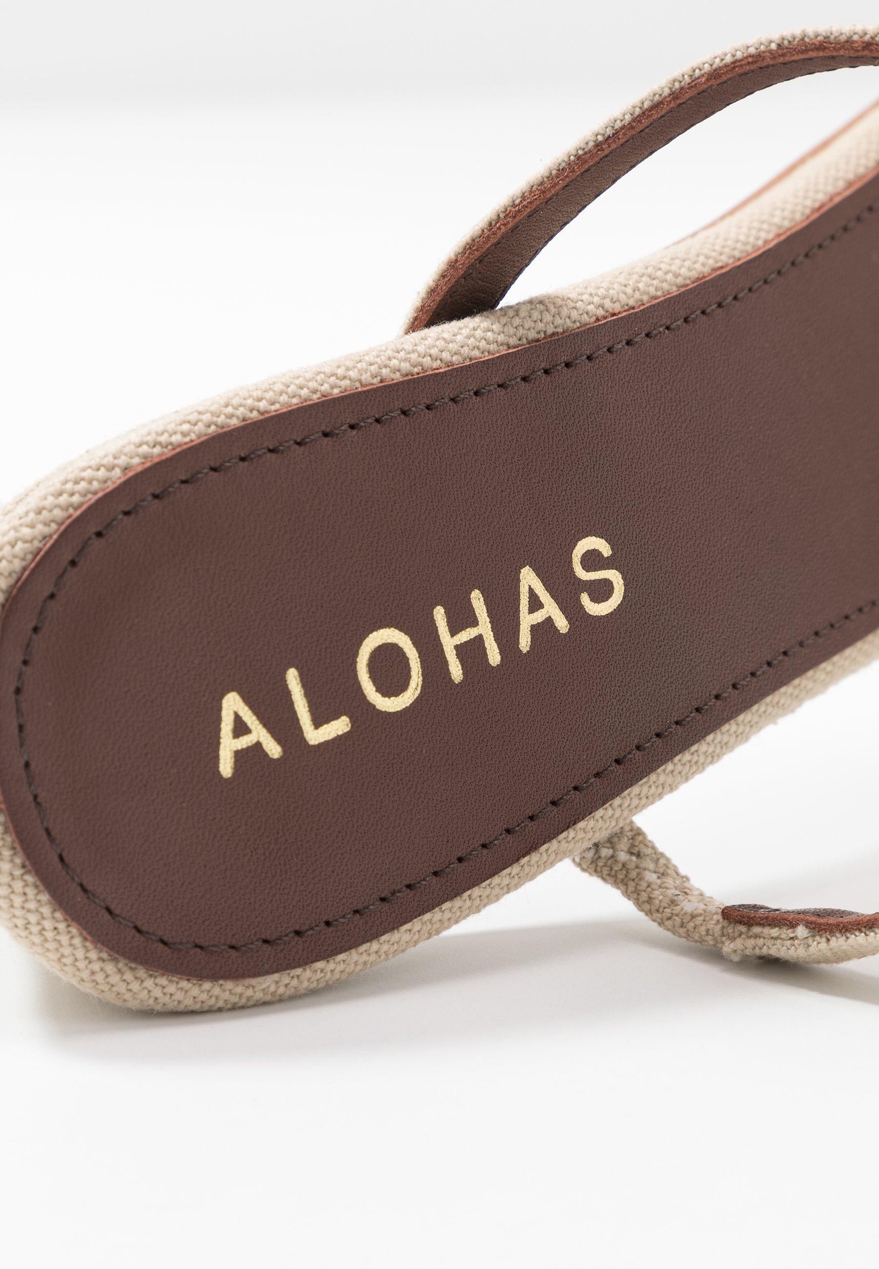 ALOHAS CANNES Slip-ins med klack beige