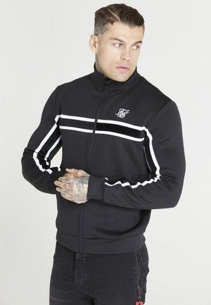 IMPERIAL RETRO ZIP THROUGH HOODIE - Zip-up sweatshirt - black/white