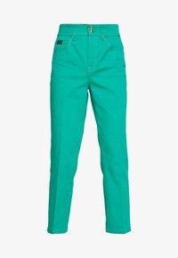 Versace Jeans Couture - LADY TROUSER - Džíny Straight Fit - pure mint - 4