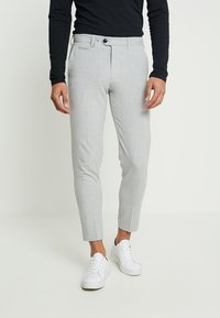 Lindbergh - CLUB PANTS - Pantaloni - grey mix - 0