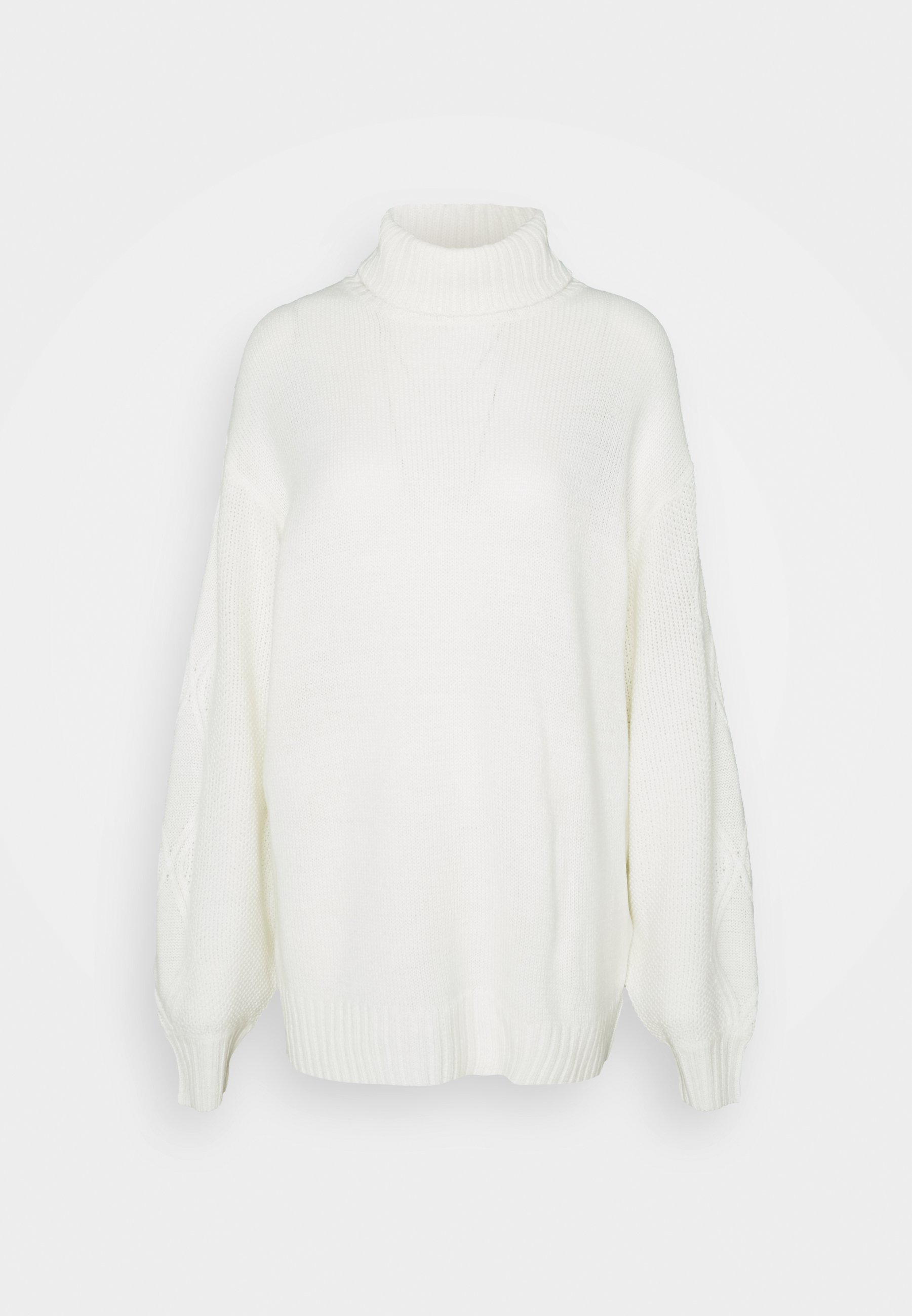 Mujer ROLL NECK CABLE SLEEVE JUMPER - Jersey de punto