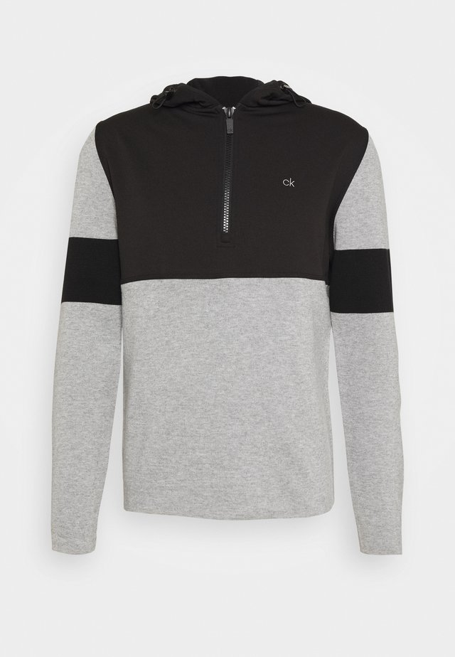 YOSEMITE HOODED - Sweater - grey marl