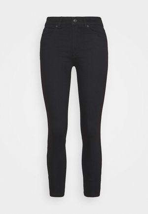 CHARLIE CROPPED - Džíny Slim Fit - black