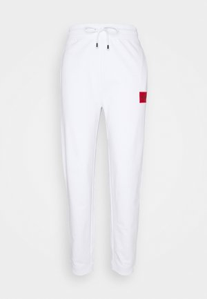 DICHIBI REDLABEL - Tracksuit bottoms - white