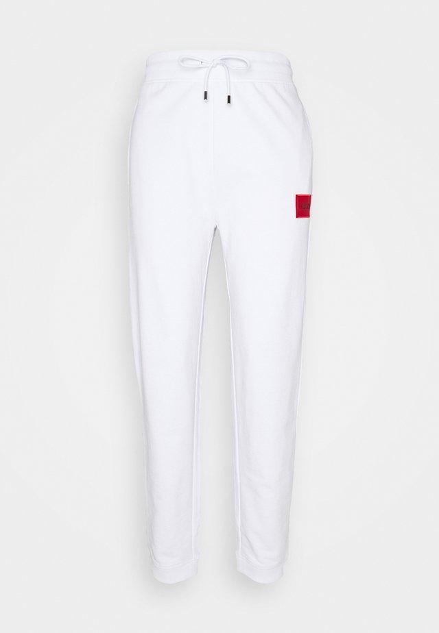 DICHIBI REDLABEL - Tracksuit bottoms - white