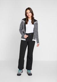 Icepeak - EMELLE - Zip-up hoodie - black/white - 1