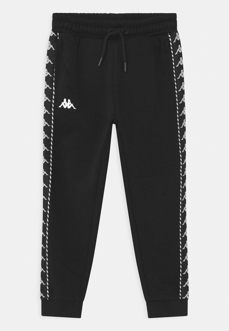 Kappa - IRENEUS UNISEX - Pantalon de survêtement - black