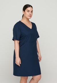Zizzi - Day dress - blue - 0