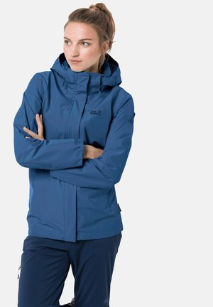 SAVOIA PEAK JKT W - Waterproof jacket - indigo blue