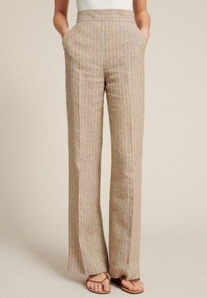 ABITACOLO - Trousers - var beige