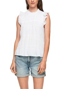 QS by s.Oliver - Blouse - white - 2