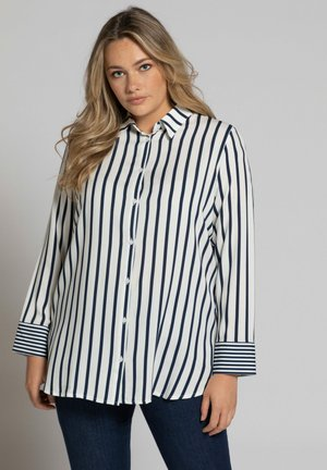 Button-down blouse - bleu marine