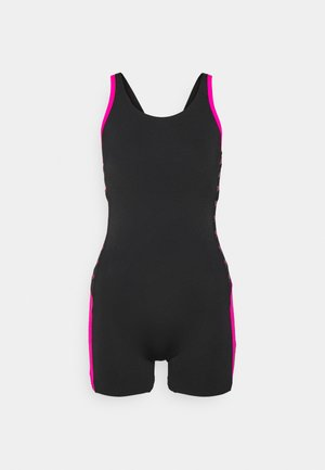 BOOM LOGO  - Swimsuit - black/electric pink