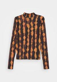 Weekday - FIONA TURTLENECK PRINT - Long sleeved top - radiant - 6