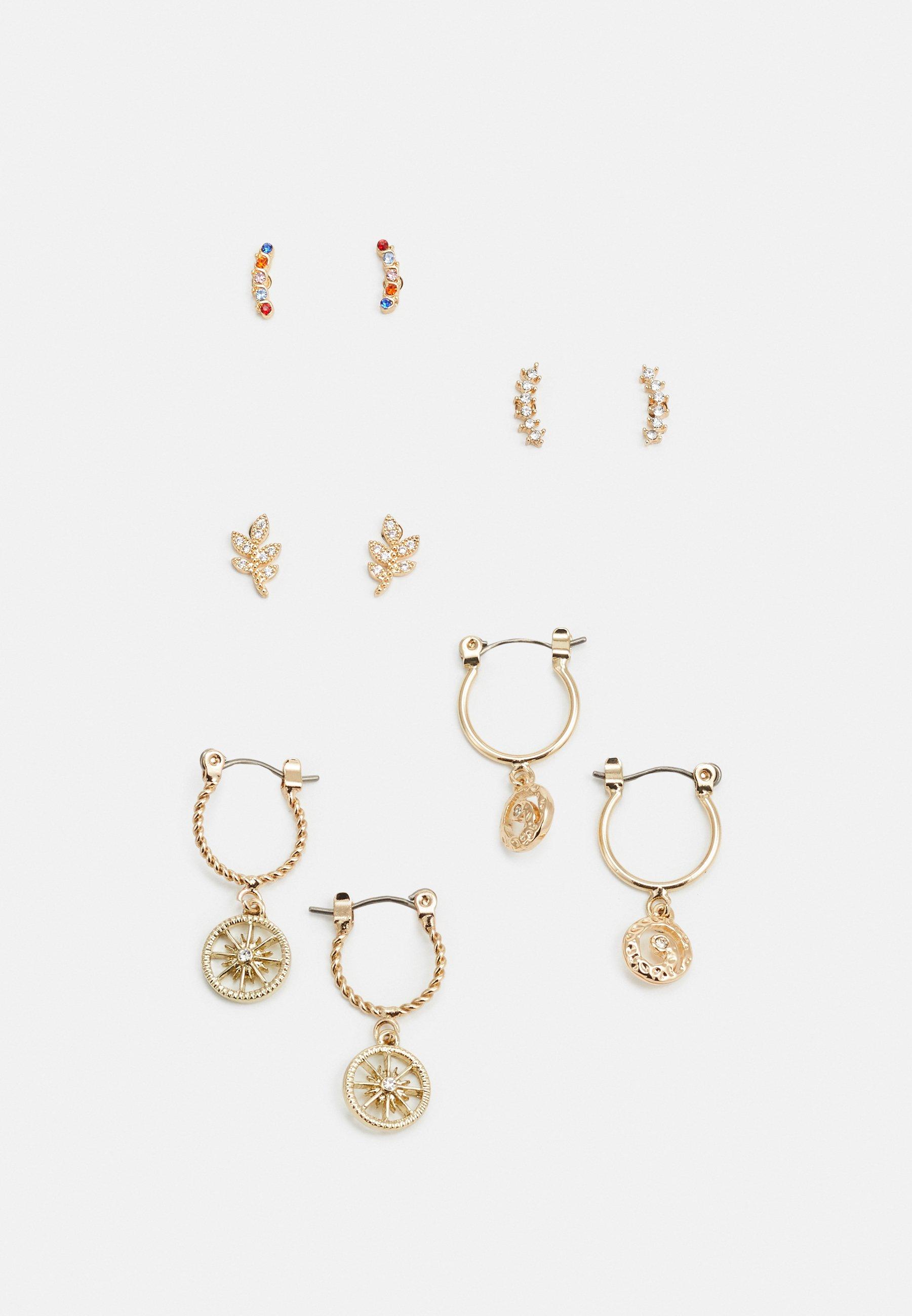 Women PCFABBY EARRINGS 5 PACK - Earrings