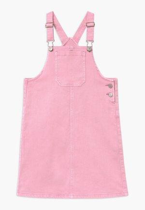 NKFBATONE - Vestido vaquero - pink nectar