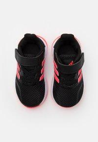 adidas Performance - RUNFALCON I UNISEX - Neutral running shoes - core black/signal pink/footwear white - 3