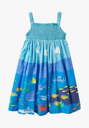 Day dress - wasserblau, riffszene