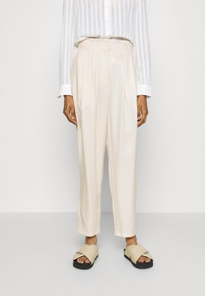 SADIE TROUSERS - Pantalon classique - white dusty light