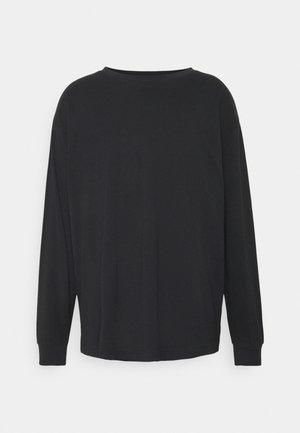 UNISEX REGULAR FIT - Long sleeved top - black