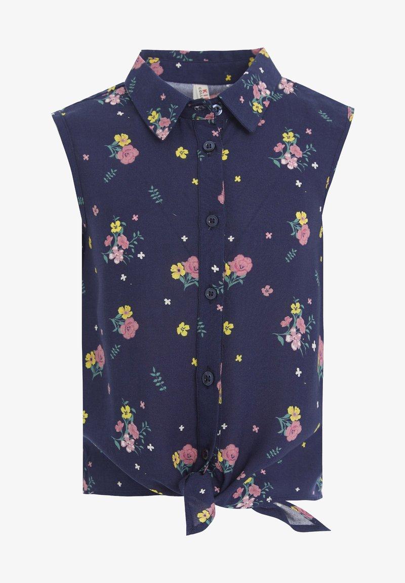 DeFacto - Button-down blouse - navy