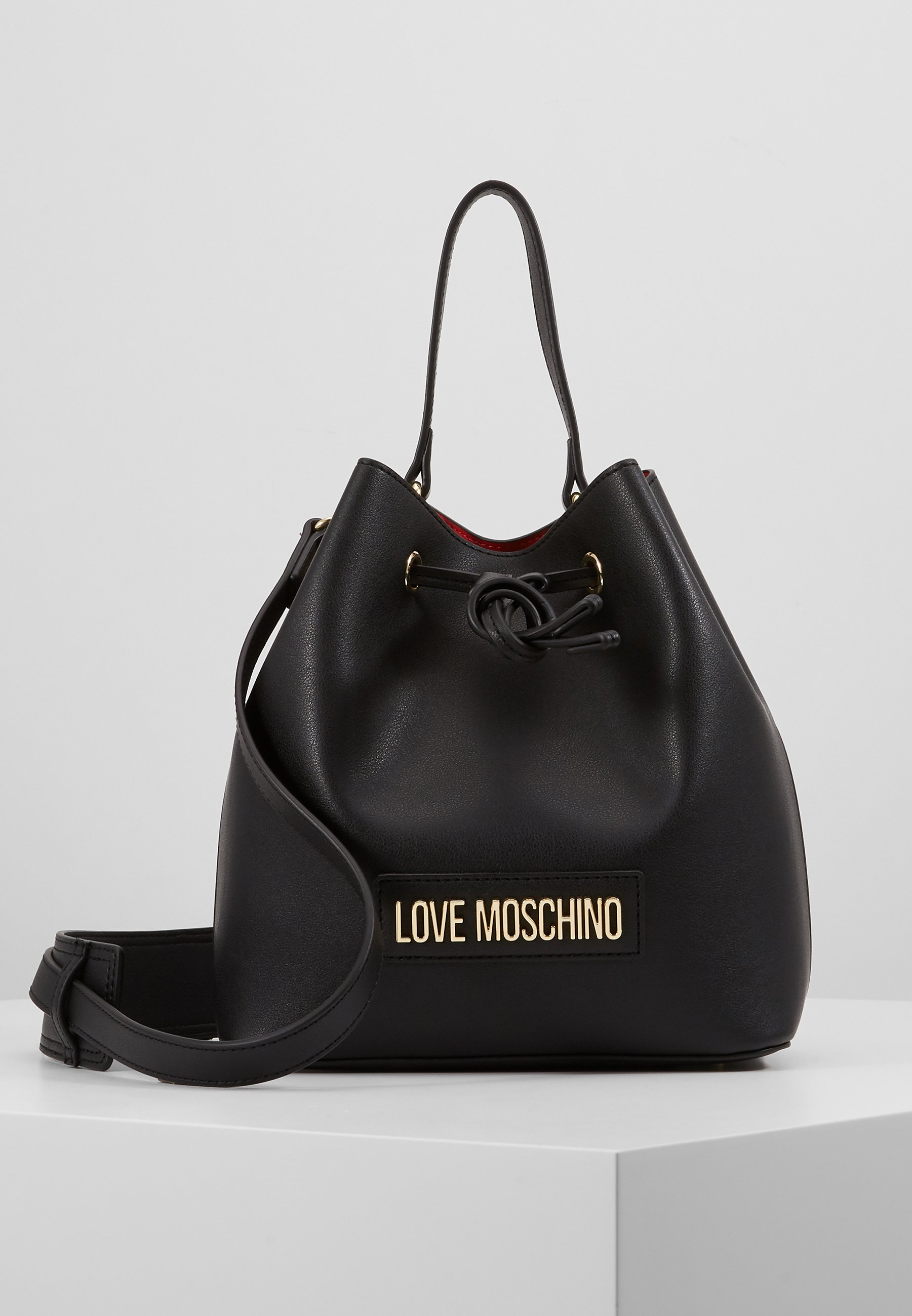 Love Moschino Håndveske blacksvart Zalando.no