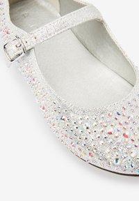 Next - Ballerina's met enkelbandjes - silver - 2