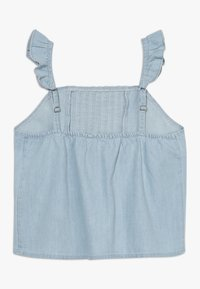 Abercrombie & Fitch - PIN TUCK MATCH  - Blouse - chambray - 1
