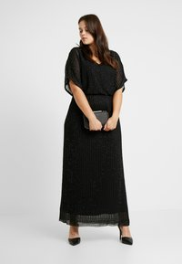 Lace & Beads Curvy - MAXI - Occasion wear - black - 1
