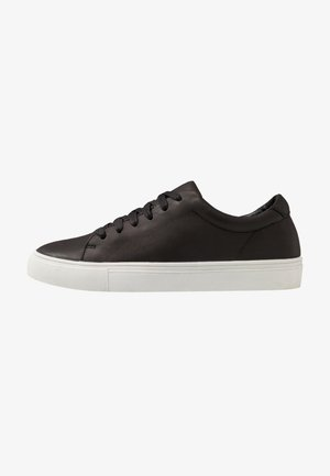 LEATHER UNISEX - Trainers - black