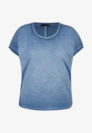 Basic T-shirt - blue denim