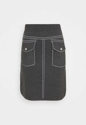 POCKET SKIRT SPECIAL - Pencil skirt - medium grey