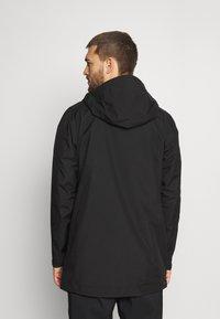 Peak Performance - LIGHT PAC - Hardshell jacket - black - 2