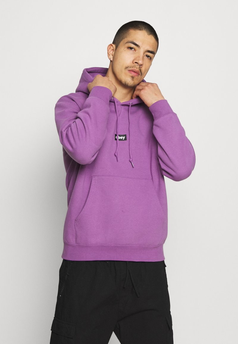 Obey Clothing - BAR - Collegepaita - purple nitro