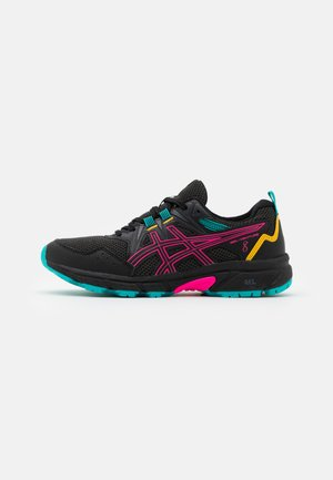 GEL-VENTURE 8 - Trail running shoes - black/pink glow