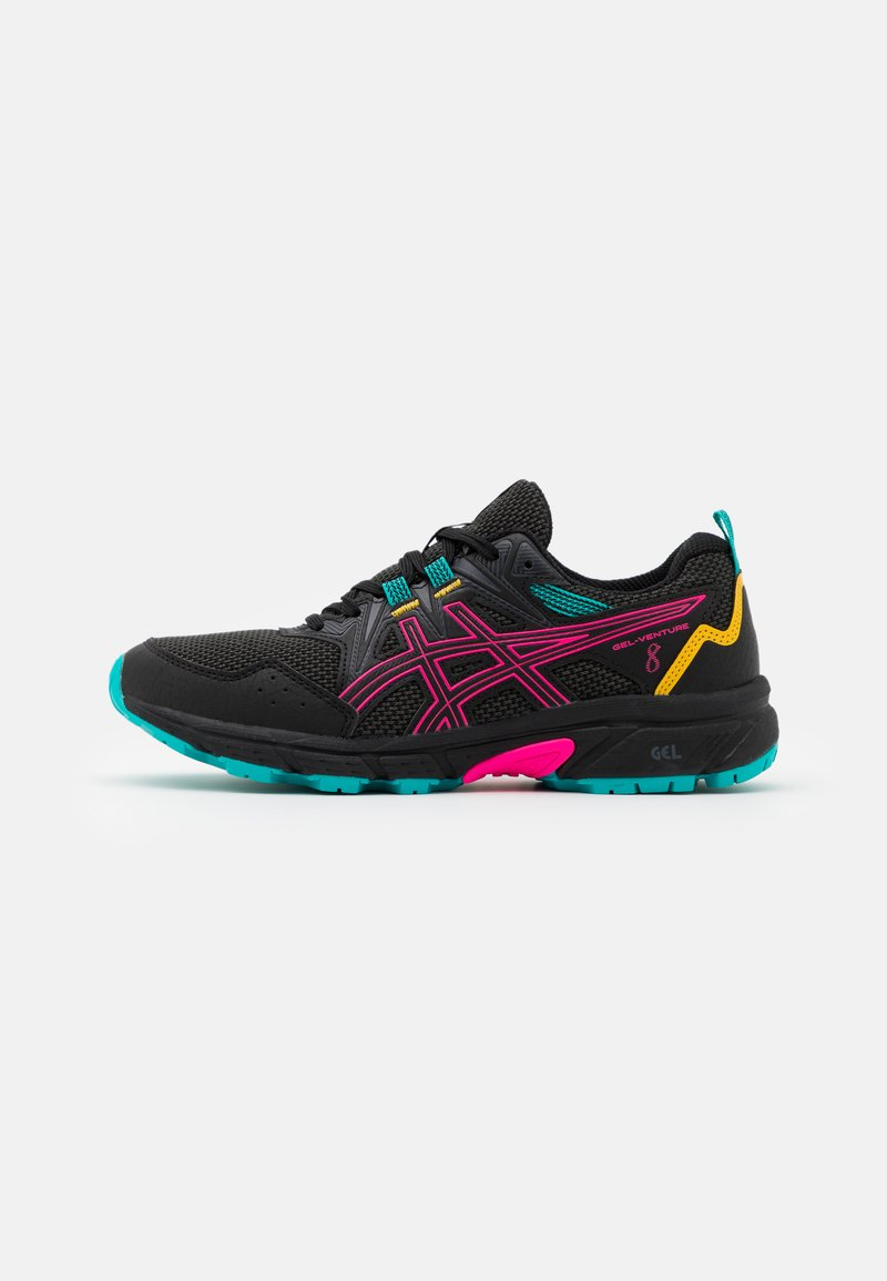 ASICS - GEL-VENTURE 8 - Trail running shoes - black/pink glow