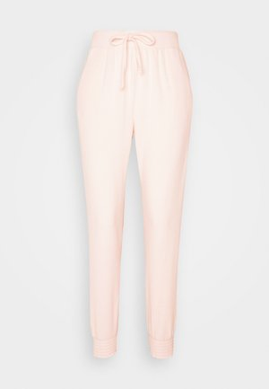 BRUSHED JOGGER - Tracksuit bottoms - blush