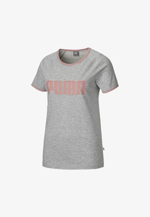 RINGER  - T-shirt print - light gray heather