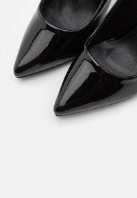 Glamorous Wide Fit - Lodičky na vysokém podpatku - black - 5