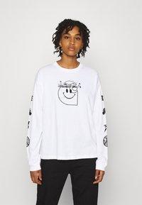 Carhartt WIP - TAB - Long sleeved top - white/black - 0