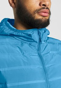 CMP - MAN JACKET FIX HOOD - Outdoor jacket - denim - 4