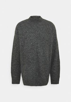 UNISEX - Pullover - mottled dark grey