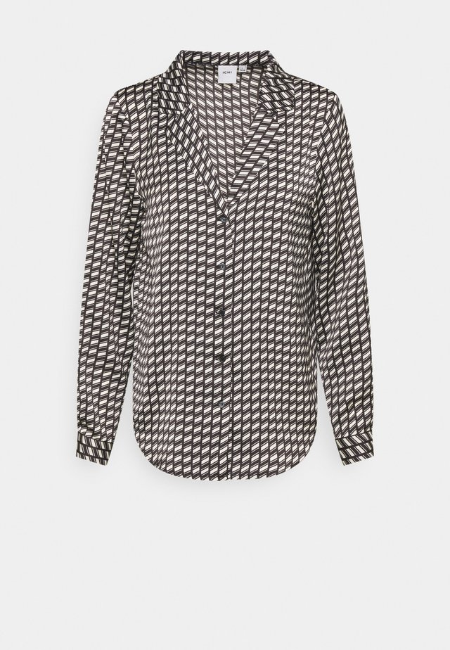ACCANTE - Button-down blouse - black