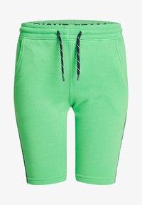 WE Fashion - MET TAPEDETAIL - Shorts - green - 3